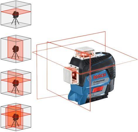 nivel laser bosch gll 3-80