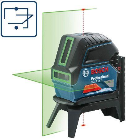 nivel laser bosch verde
