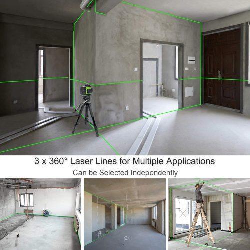 nivel laser huepar verde
