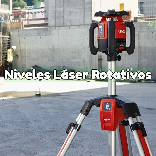 nivel laser rotativo