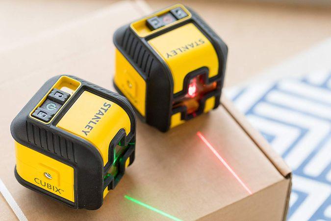 nivel laser stanley cubix