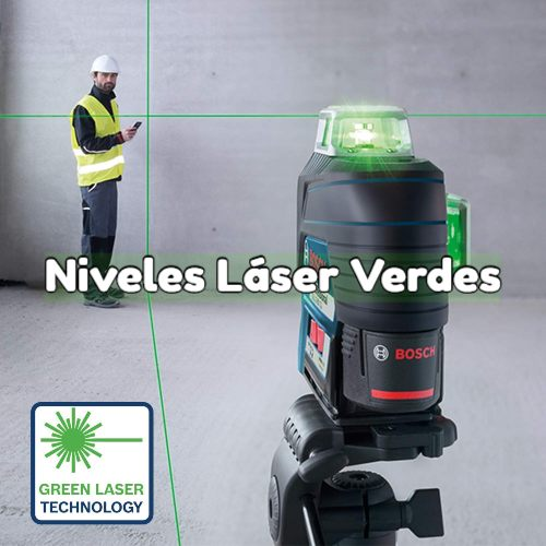 nivel laser verde