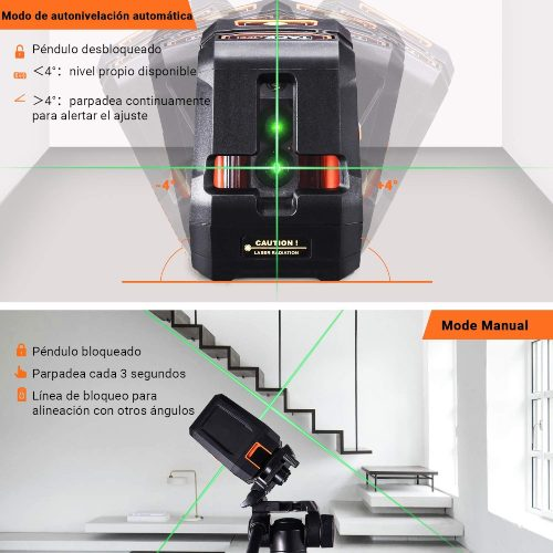 niveles laser autonivelantes