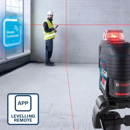 niveles laser con tripode