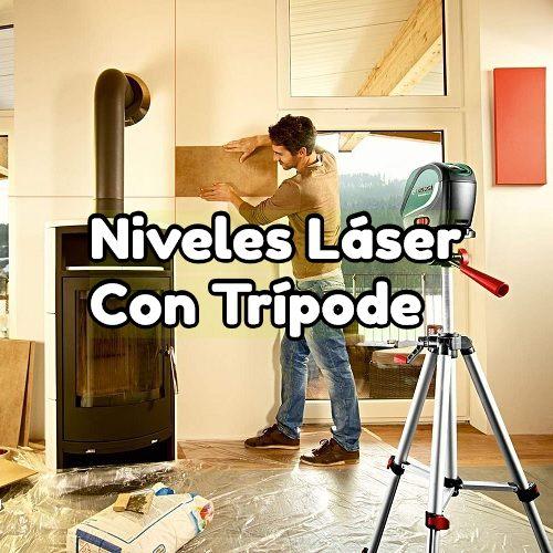 nivel laser con tripode