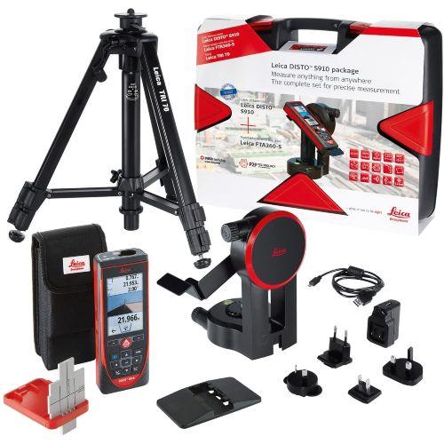 set Medidor laser Leica Disto S910