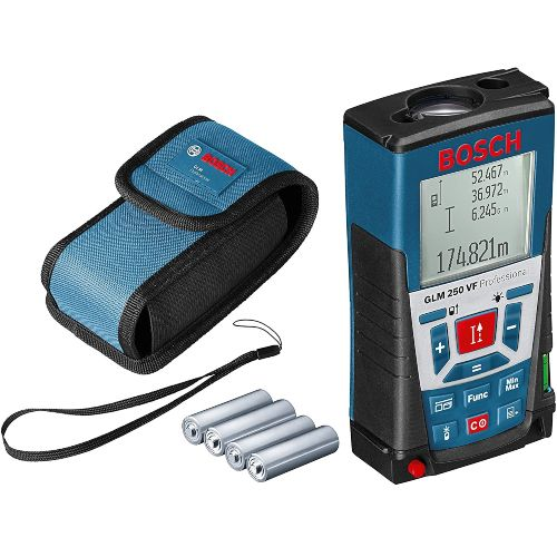 medidor laser bosch glm 250 vf