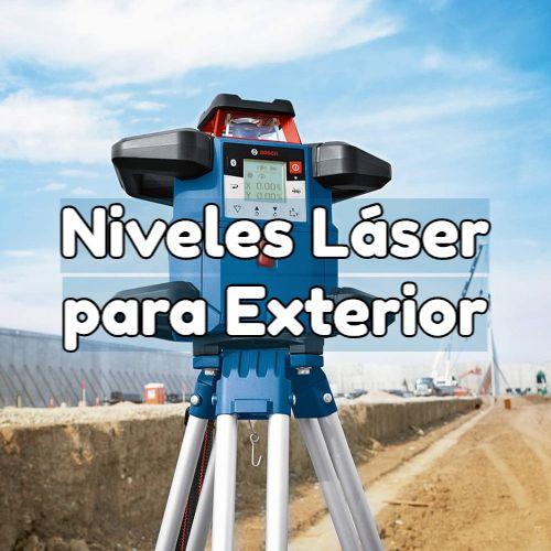 nivel laser exterior