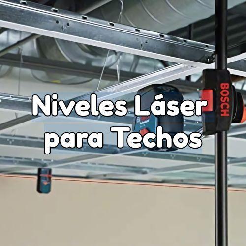 niveles laser para techos