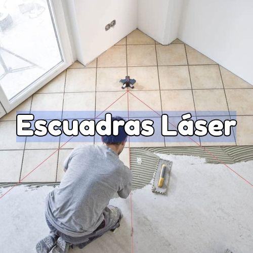 escuadra laser