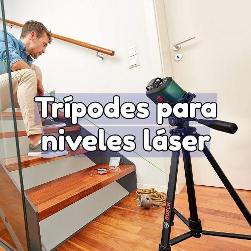 tripodes para niveles laser
