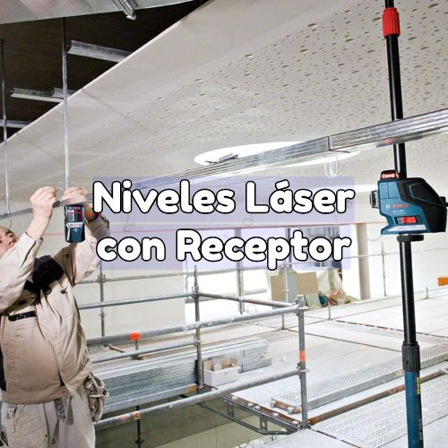 nivel laser con receptor